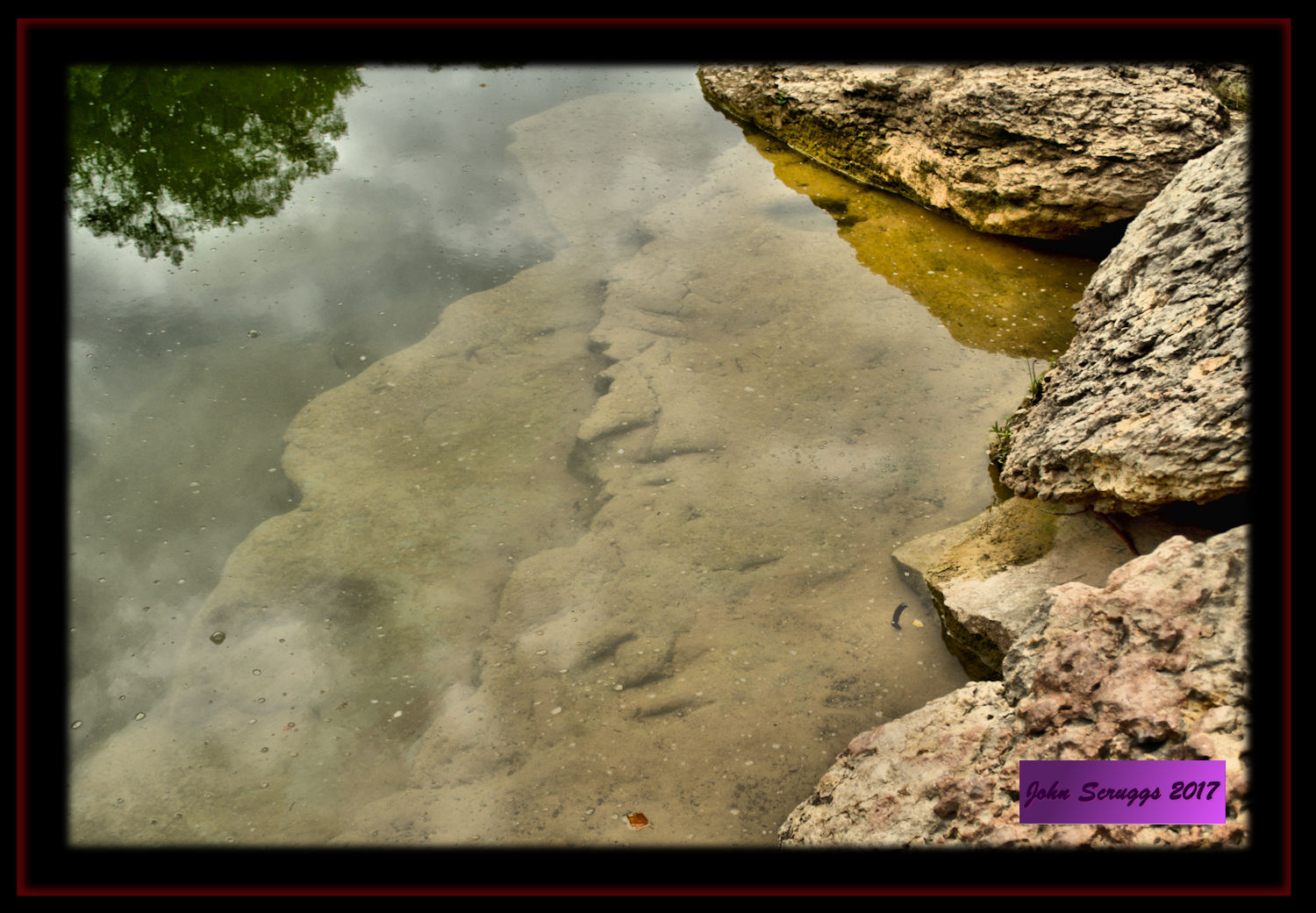 Dinosaur Valley, Texas State Park - Ancient Footprints in